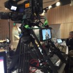 Live Webcasting with mobile video flypack racks